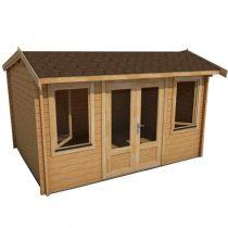 Birch-Log-Cabin
