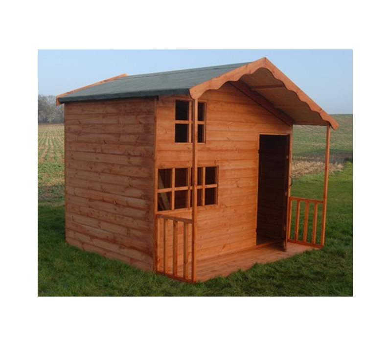 Childrens playhouse two storey garden sheds for Children s garden sheds
