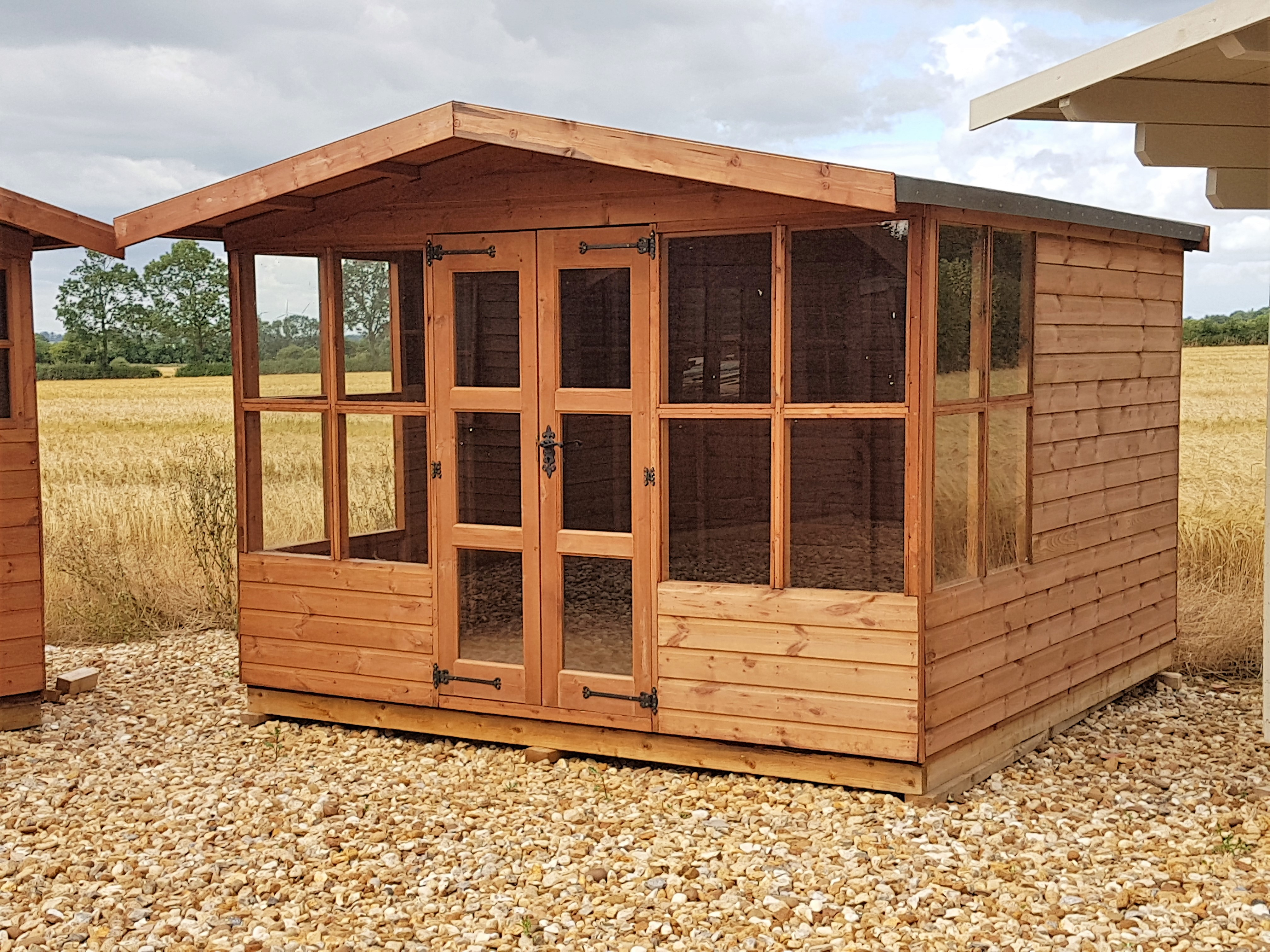 potting shed buildings sheds solar greenhouses tanalised cheshire garden products